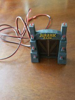 Jurassic Park Pinball - Static Gate Mod by Tim's Pinball Mods