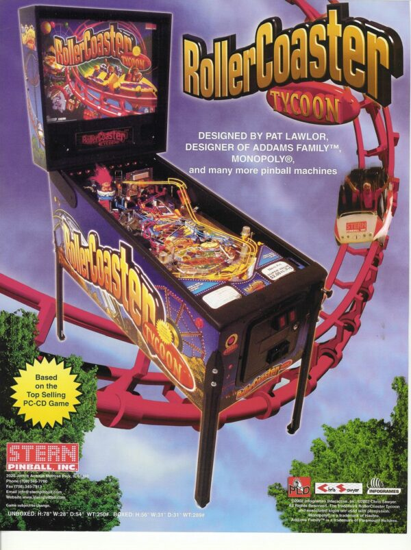 Rollercoaster Tycoon flyer1