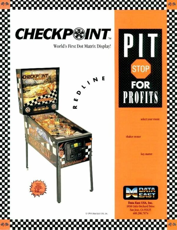 Checkpoint flyer