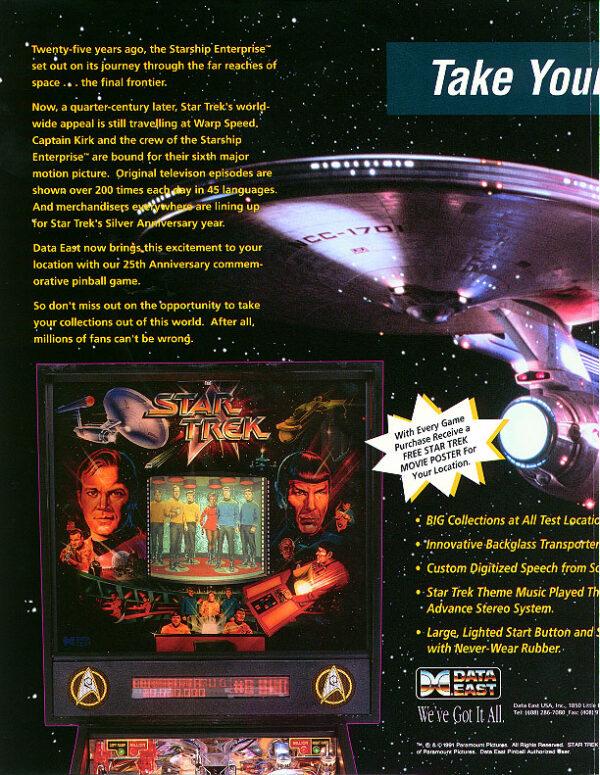 Star Trek 25 Flyer