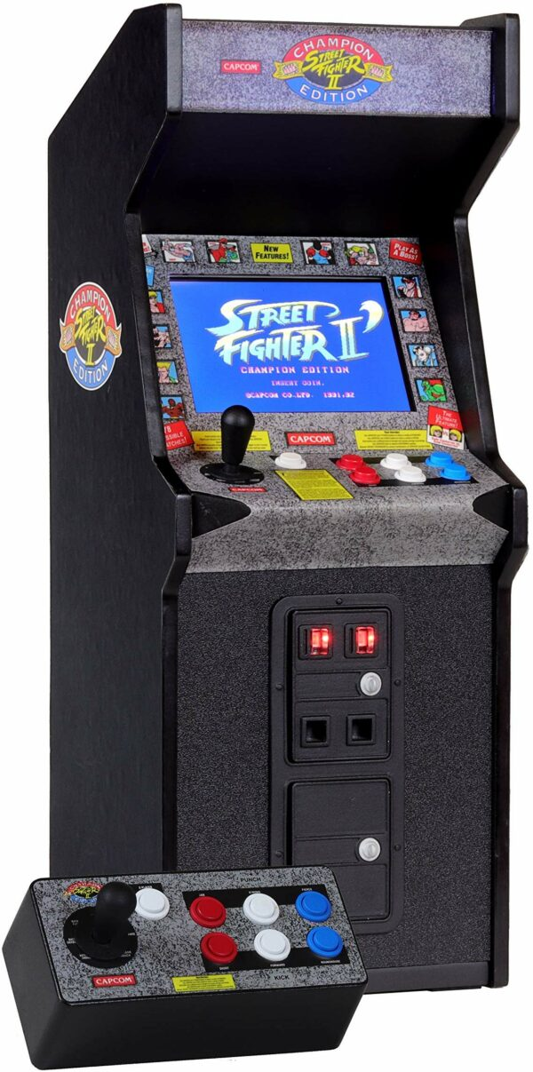 New Wave Toys Street Fighter II X Replicade