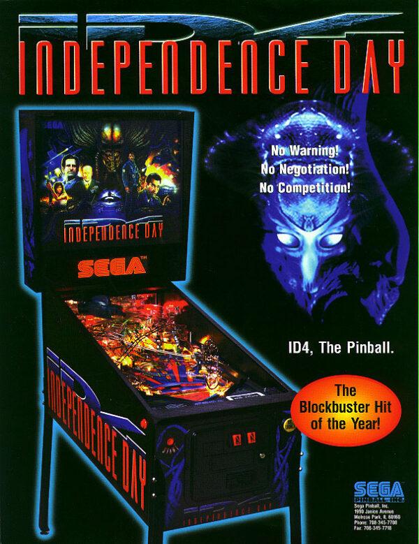 ID4 Pinball Flyer