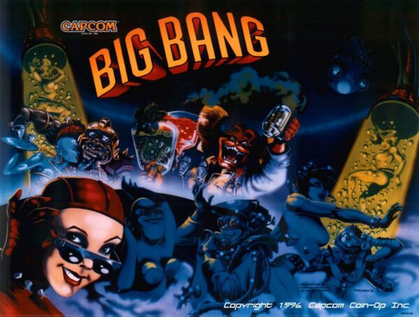Big Bang Bar Backglass