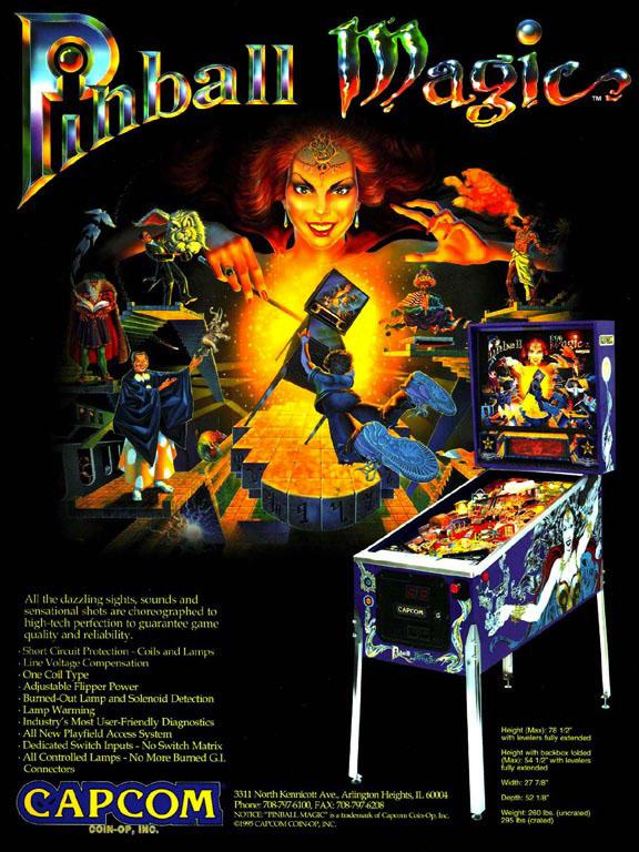Pinball Magic Flyer